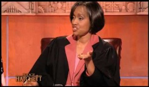 Yeah, that's not a good sign, when Judge Hatchett looks like this