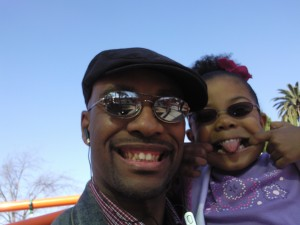 Baba and Mooch at the park