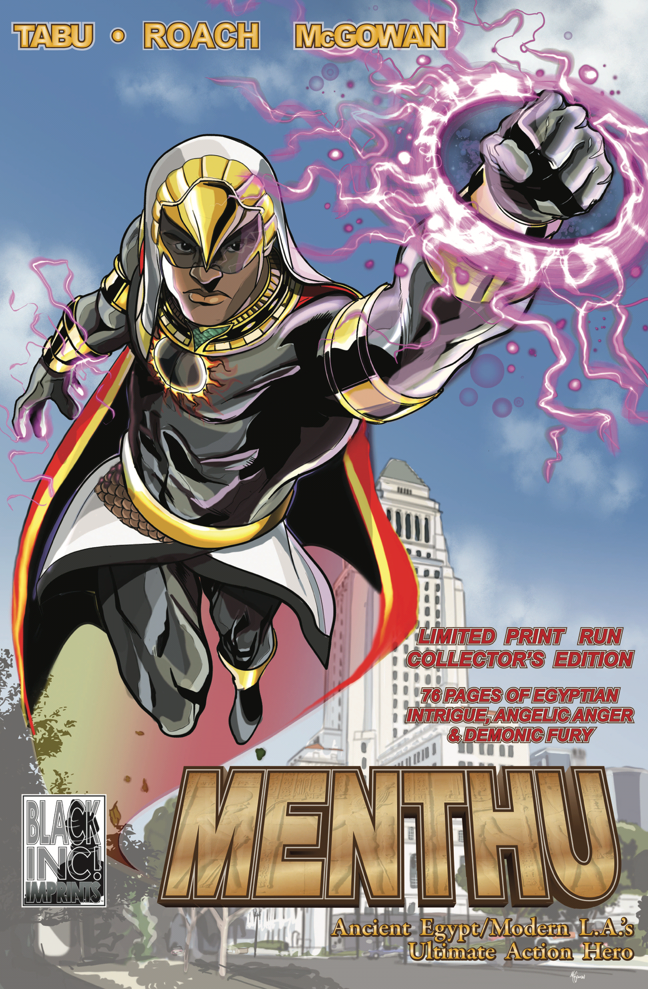 the cover for Menthu: The Anger of Angels
